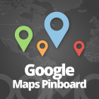Google Maps Pinboard App Icon