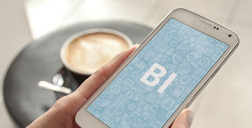 mobile bi solutions for sales