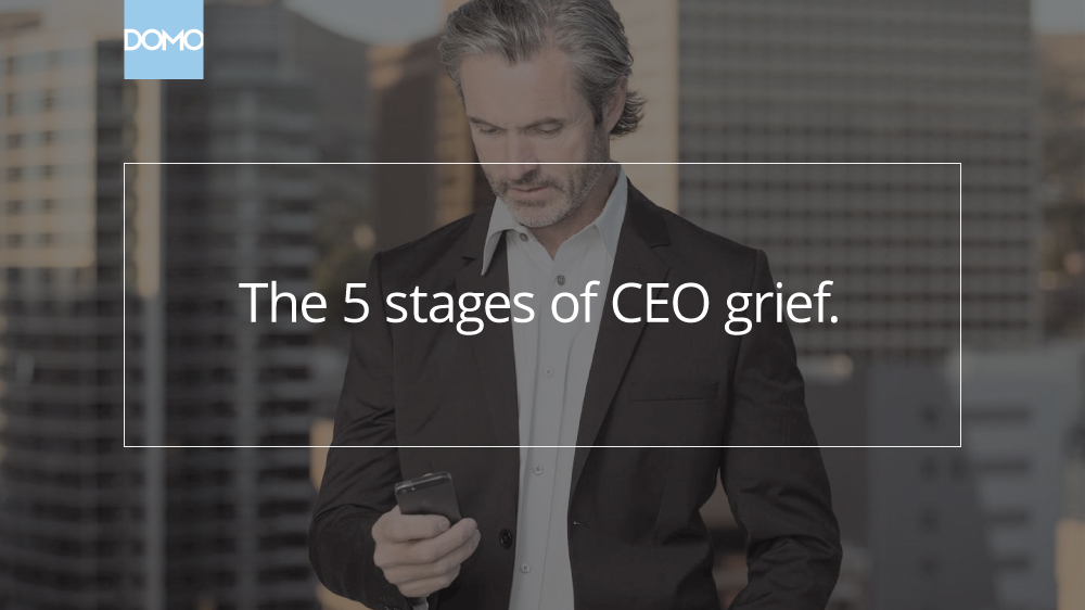 The 5 stages of CEO grief