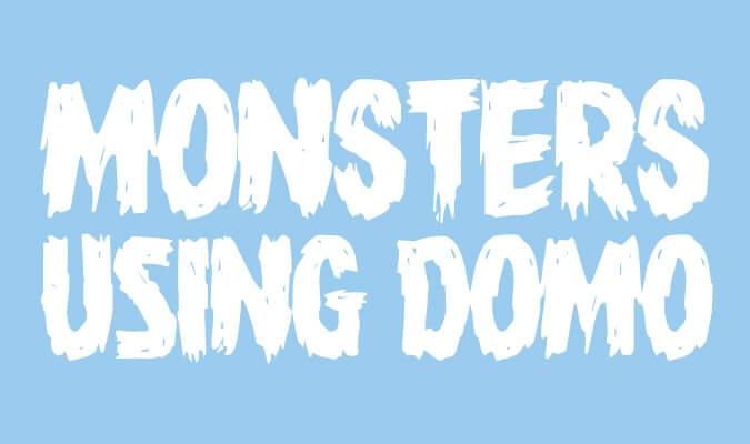 how do you domo monster mash edition domo