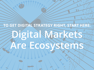 Digital Markets Are Ecosystems