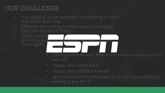 Storytelling The Espn Fan Experience With Real Time Data Domo