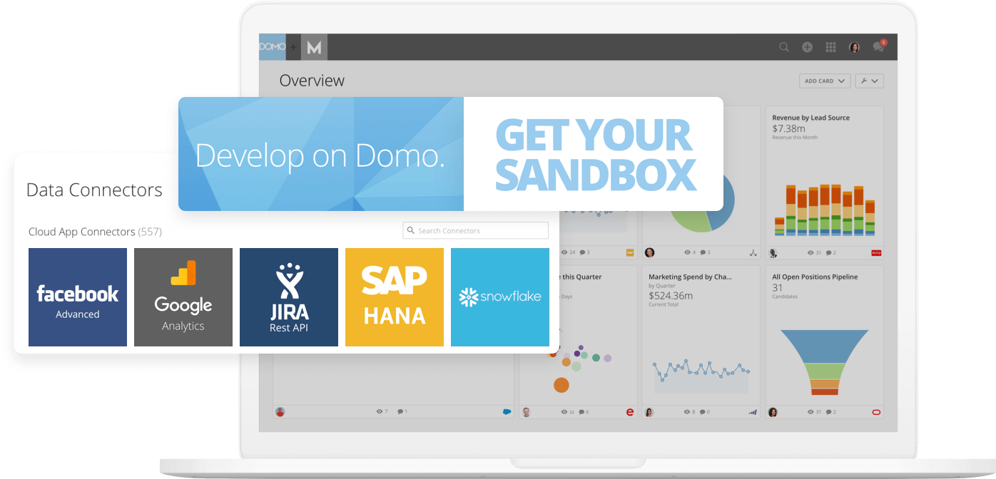 Domo feature developer sandbox connectors